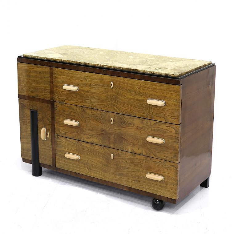 Art Deco 'Cubist' Chest of Drawers
