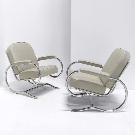 Armchairs by Batistin Spade
