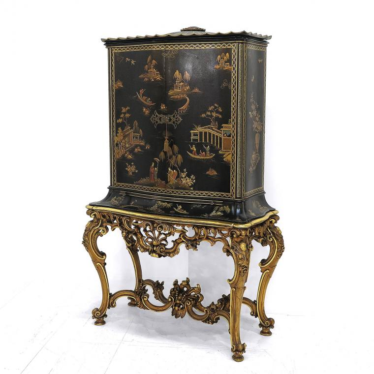 French Chinoiserie Cabinet