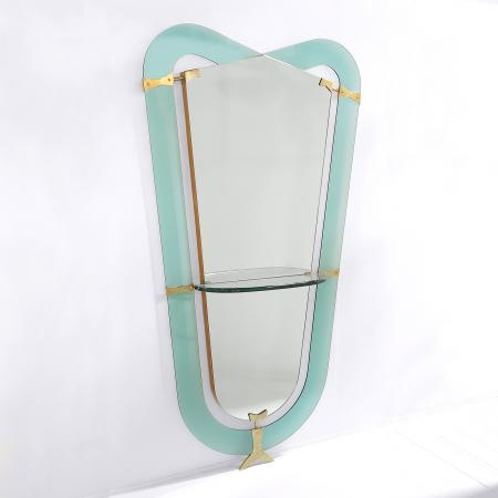 Entrance Mirror by Cristal Arte