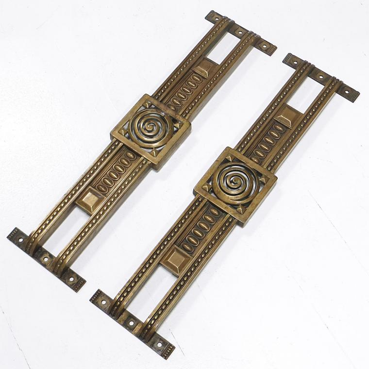 French Art Deco Door Handles