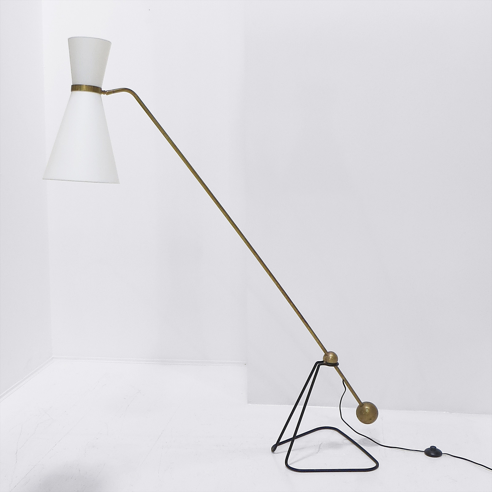 French Counter Weight Lamp A1