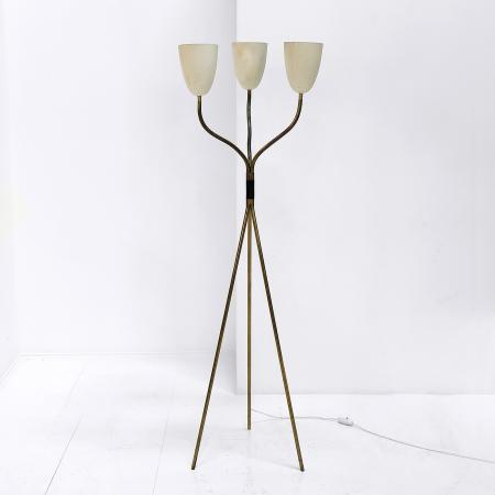 French Three-Arm Floor Lamp