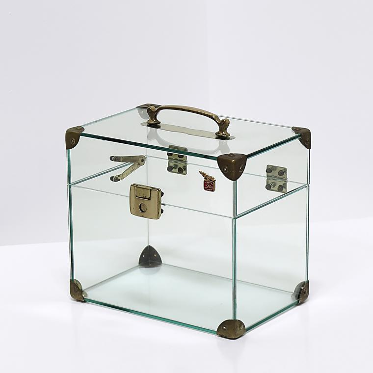 Italian Glass Case