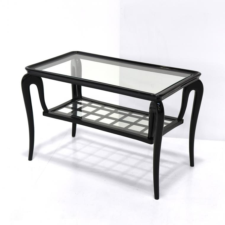 Italian Lacquered Coffee Table