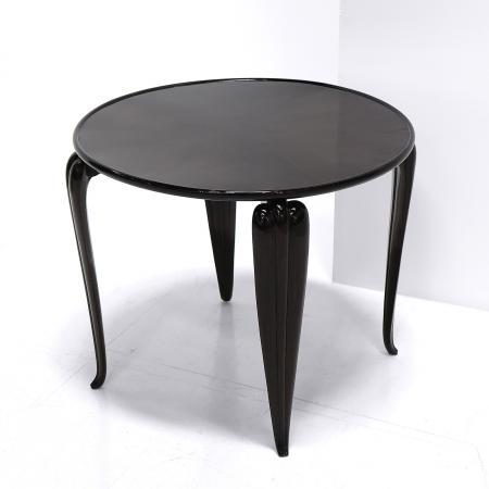Italian Lacquered Side Table