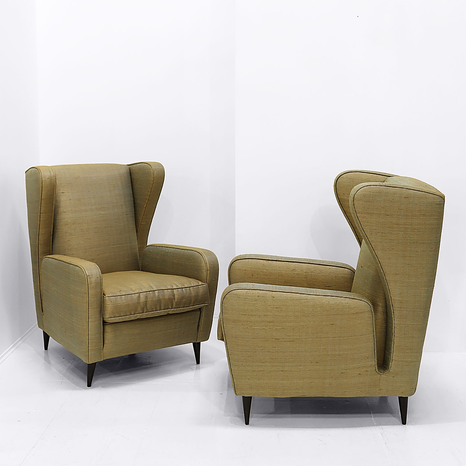 Lounge chairs by isa nicholas alistair - Library lounge chairs ...