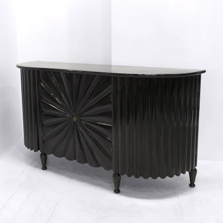 Pair of Italian 'Starburst' Sideboards