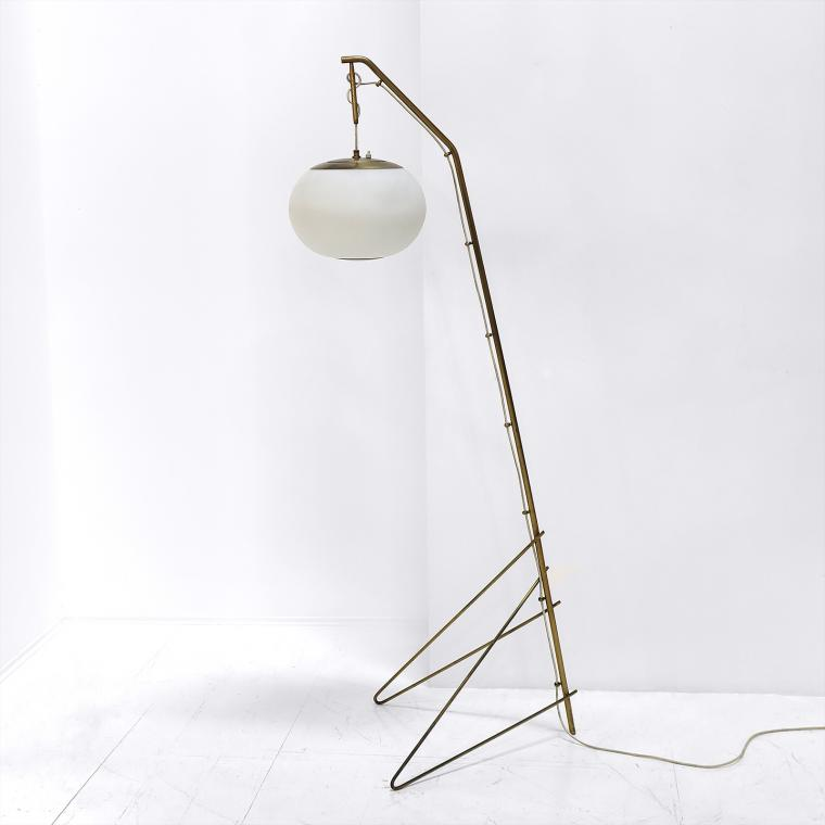 Italian Suspension Floor Lamp