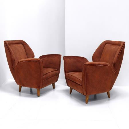 Lounge Chairs by Gio Ponti
