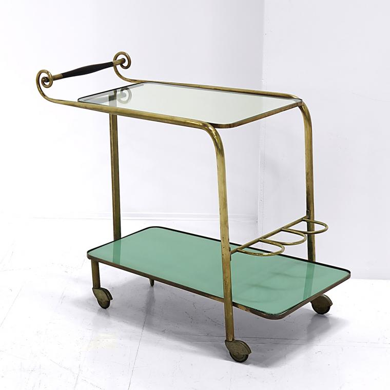Regency Moderne Bar Cart