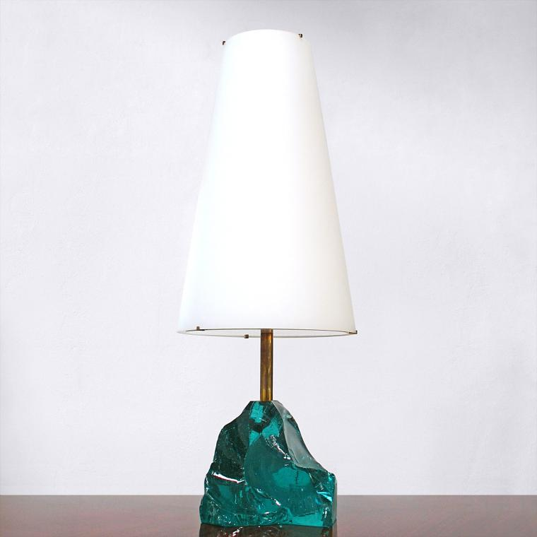 'Rock' Table Lamp by Roberto Rida