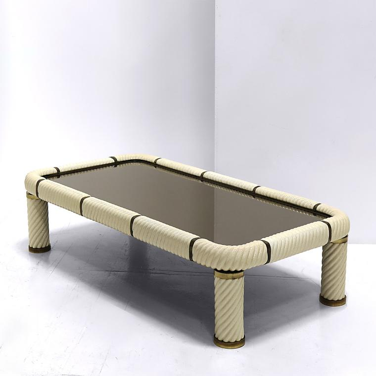 Porcelain Coffee Table by Tommaso Barbi