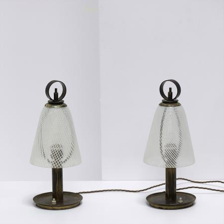 Table Lamps by Venini